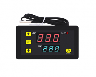 W3230 DC24V Digital Temperature Controller Microcomputer Thermostat Switch