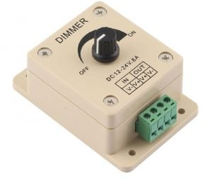 12V-24V 8A Adjustable Dimmer Switche For Single LED Strip