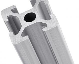 EasyMech 20X20 T Slot Aluminium Extrusion Profile - 1000 mm