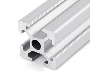 EasyMech 20X20 4T Slot Aluminium Extrusion Profile - 500 mm