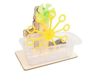 Electric Bubble Machine for Kids