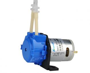 Kamoer 12V 0.25A 10mlmin silicone tube liquid pump Model NKP-DC-S04