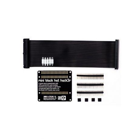 Mini Black HAT Hack3r – Solder Yourself Kit