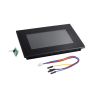 Nextion Intelligent NX8048P070-011R-Y 7.0 HMI Resistive Touch Display with enclosure
