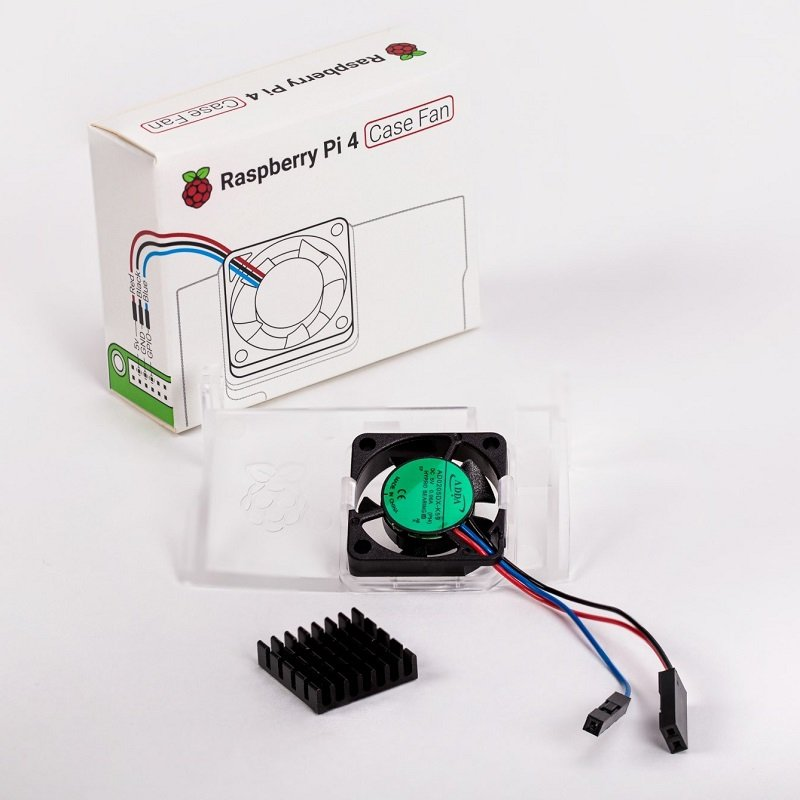 Official Raspberry Pi 4 Case Fan