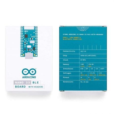Original ARDUINO NANO 33 BLE Board