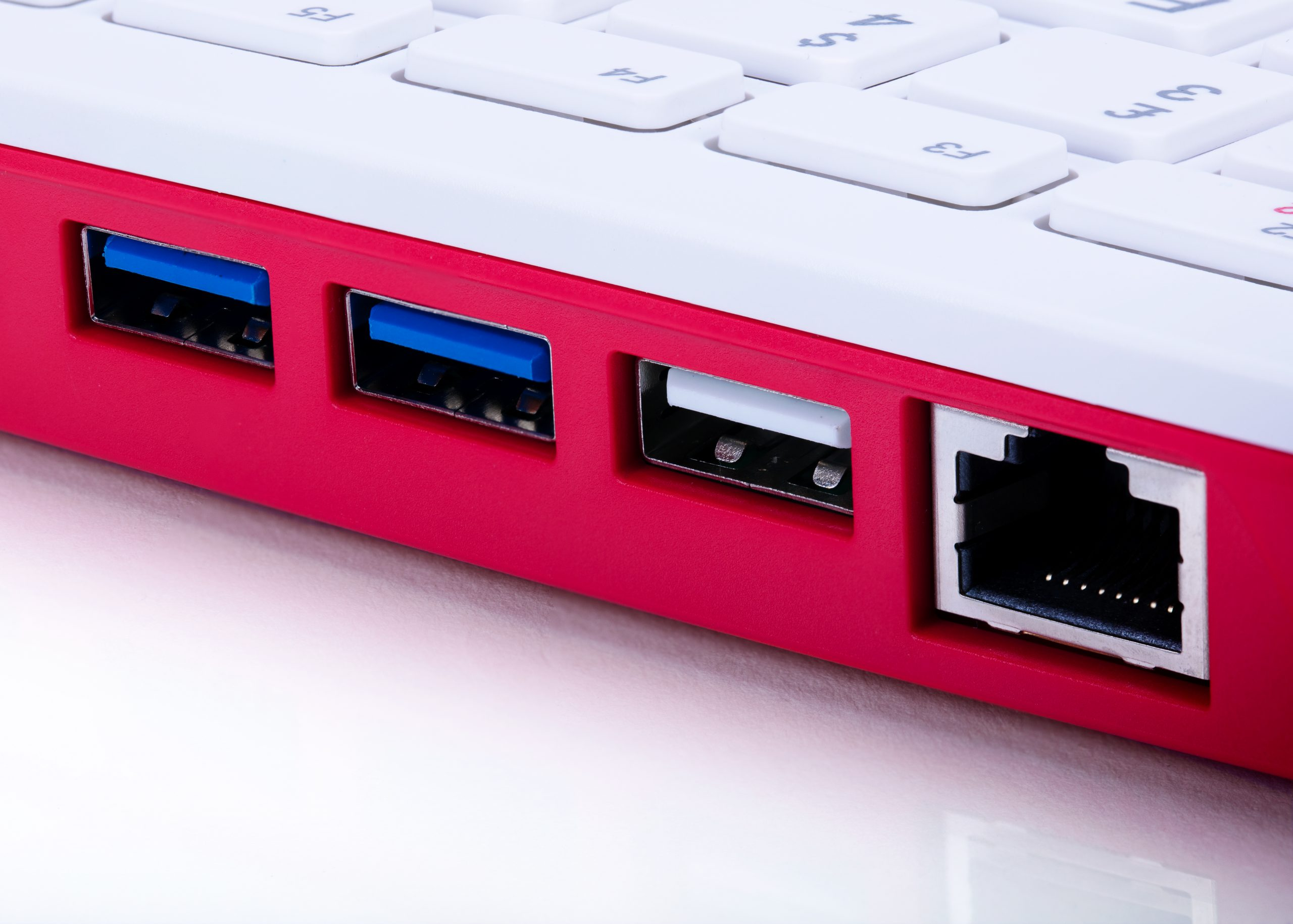 USB and HDMI port