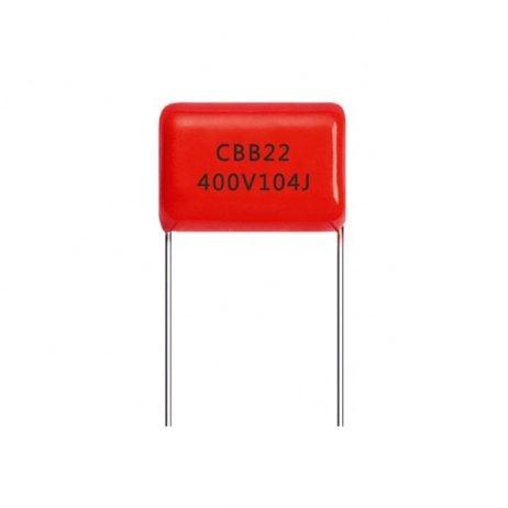 100nF 400V film capacitor