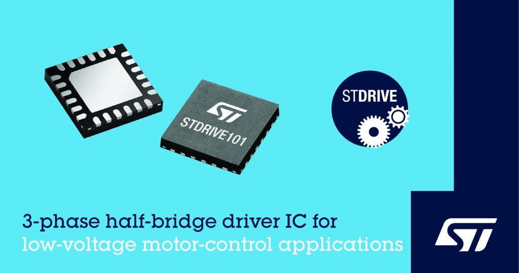 3-phase half bridge driver ic