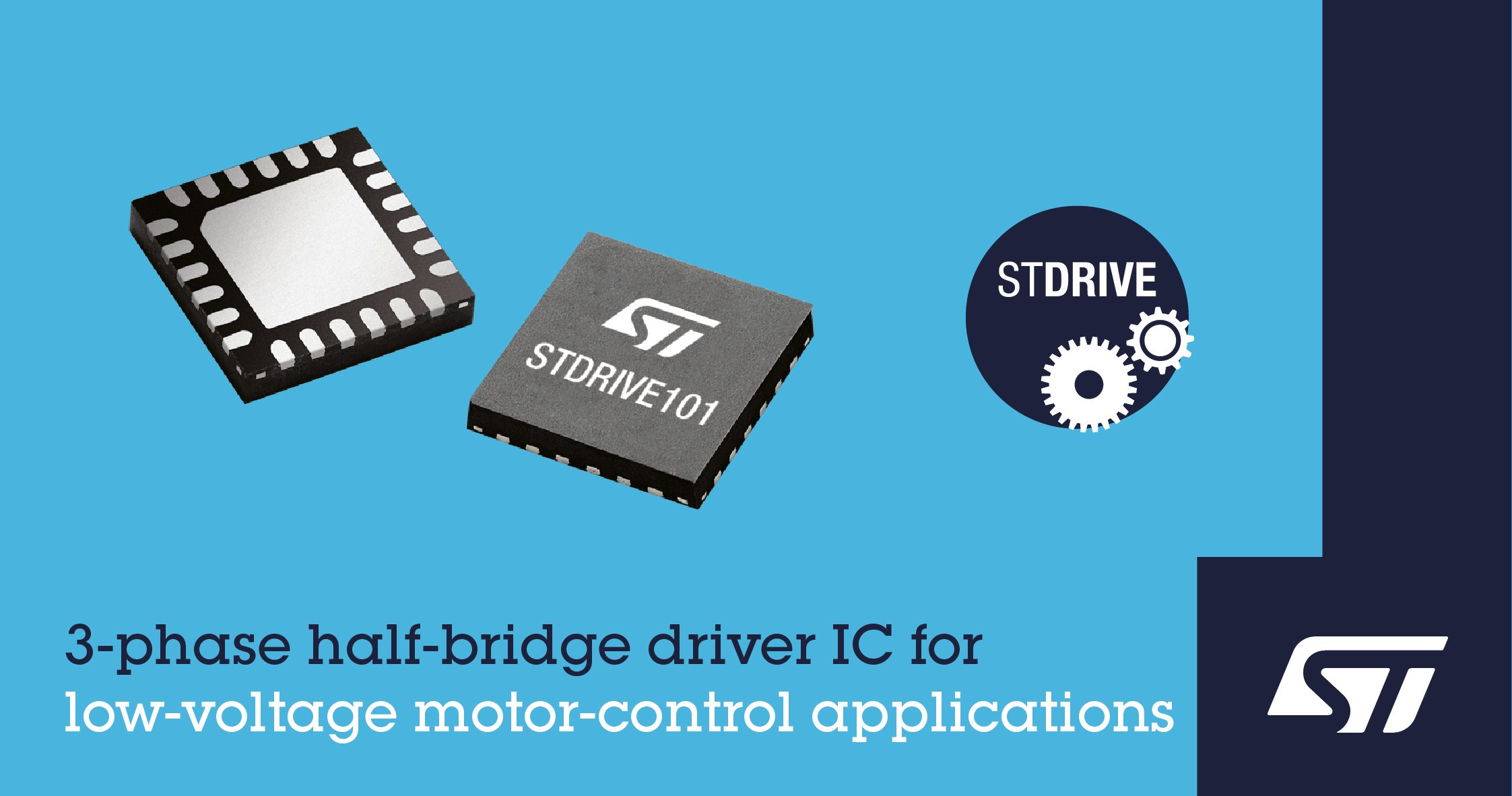 3-phase half bridge driver ic