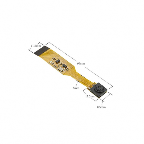 Arducam 5MP OV5647 NoIR MINI Spy Camera with flex cable