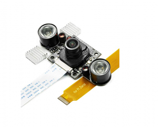 Arducam 5MP OV5647 NoIR Motorized IRcut Filter M12 Mount LS-30188 Lens Camera Module for Raspberry Pi