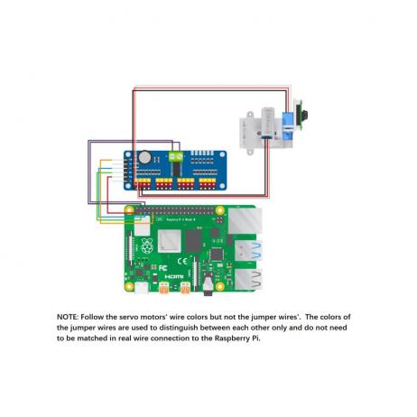 Arducam 5MP OV5647 Pan Tilt Camera for Raspberry Pi