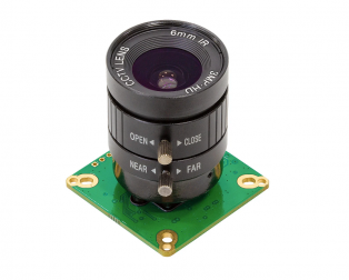 Arducam HQ Camera for Jetson Nano and Xavier NX, 12.3MP 12.3 Inch IMX477 with 6mm CS-Mount Lens