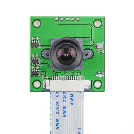 Arducam OV5647 Camera Board with LS-40180 Fisheye Lens M12x0.5 Mount for Raspberry Pi