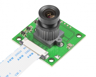 Arducam OV5647 Camera Board with LS-40180 Fisheye Lens M12x0.5 Mount for Raspberry Pi