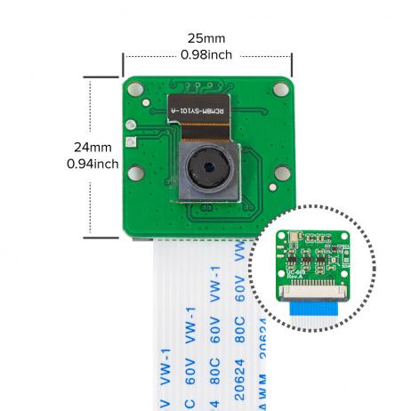 Arducam Pan Tilt Camera Bundle for Nvidia Jetson Xavier NXNano