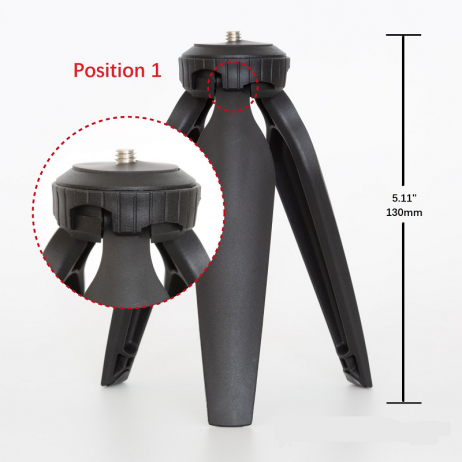 Arducam Tripod for Raspberry Pi HQ Camera, Variable Height Portable Camera Tripod Stand