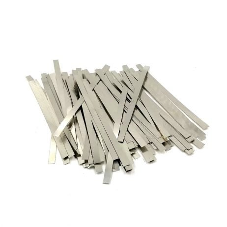 Nickel Strip with size 0.1 x 4 x100mm Pure Nickel