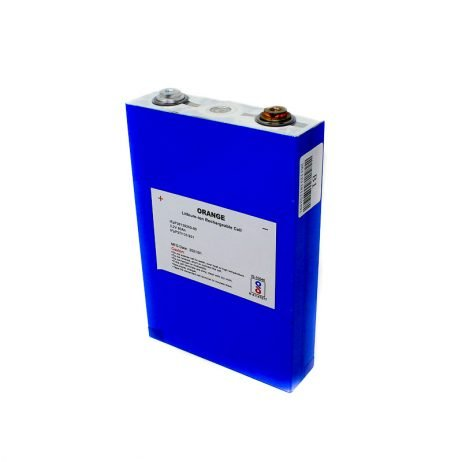 ORANGE Li-Fe 80Ah 3.2V LITHIUM IRON PHOSPHATE BATTERYORANGE Li-Fe 80Ah 3.2V LITHIUM IRON PHOSPHATE BATTERY