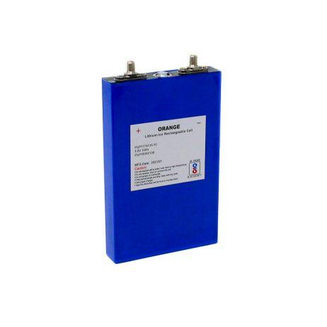 Orange 10Ah Lithium Iron Phosphate Battery