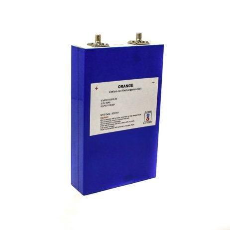 Orange 50Ah Lithium Iron Phosphate Battery