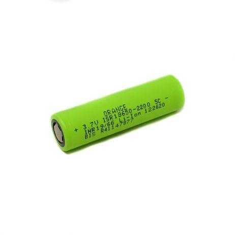 Orange ISR 18650 2200mAh (5c) Lithium-ion Battery