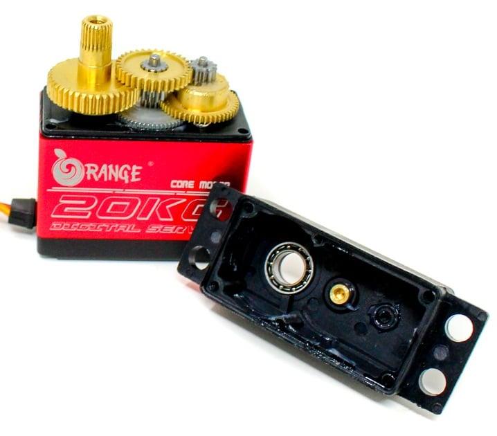 Orange OT5320M 7.4V 20kg.cm 180° Copper Metal Gear Digital Servo Motor