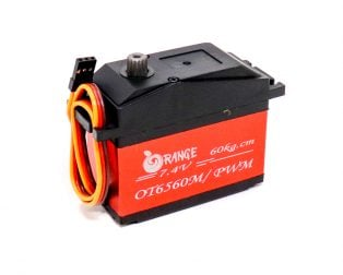 Orange RC Servo Motors