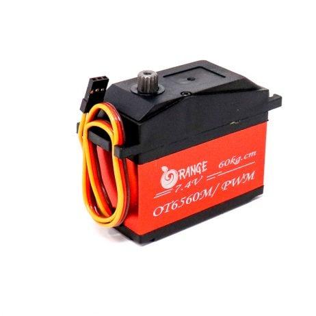 Orange OT6560 7.4V 60kg.cm 180° Metal Gear Serial Control BUS Servo