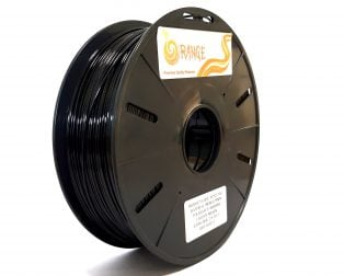Orange PETG 1.75mm 3D Printing Filament 1kg-BLACK