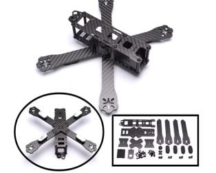 QAV-R 220mm Quadcopter Combo Kit