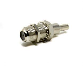 RG59 F Male Compression Connector