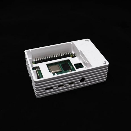 Raspberry 4B White Injection Molding Case Supporting 3007 Fans