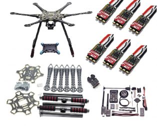 Upgraded S550 Hexacopter Combo Kit