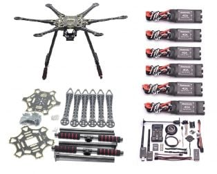 S550 Hexacopter Combo Kit