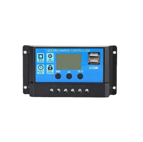 10A Intelligent LCD Solar Controller
