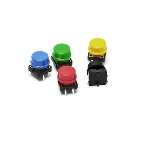 12x12x7.3 mm Round Cap for Square tactile Switch