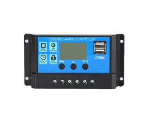 30A Intelligent LCD Solar Controller