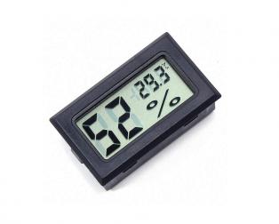 Black FY-11 Mini Digital LCD Environment DIY Thermometer