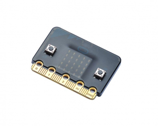 Black Transparent Frosted Shell for Microbit (OnlyShell)