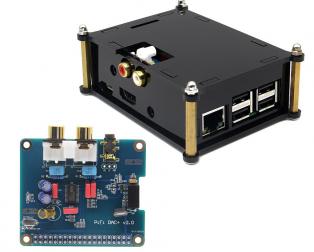 Case for RA169 HIFI DAC+ Sound Card
