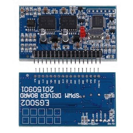 DC-AC DC AC Pure Sine Wave Inverter SPWM Board EGS002 EG8010 + IR2113 Driver Module