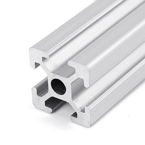 EasyMech 100 mm 20X20 4T Slot Aluminium Extrusion Profile- 4 Pcs.