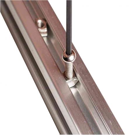 EasyMech Sliding M5 T-nut for 20X20 Aluminium Profile – 10 Pcs