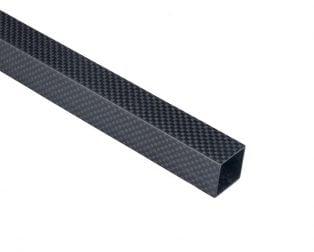 Square Carbon Fiber Tube (Hollow)
