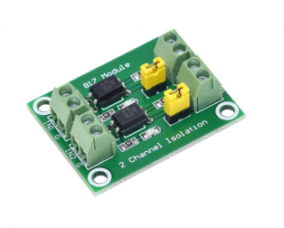 PC817 2 CH Optocoupler Isolation Module