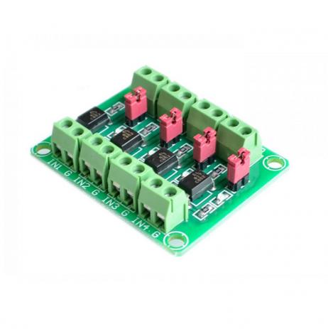 PC817 4 CH Optocoupler Isolation Module