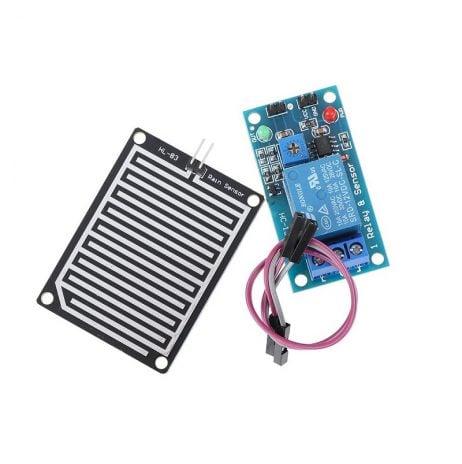 Raindrops Detection Sensor Module with 12V Relay Module