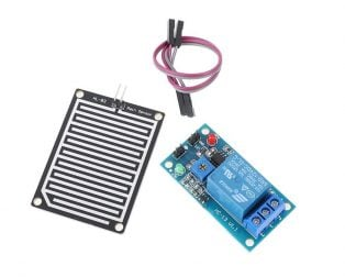 Raindrops Detection Sensor Module with 12V Relay Module